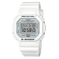 Casio G-Shock DW-5600MW-7DR Analog Quartz White Resin Womens Watch