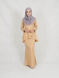 Muslim Women Fashion Baju Kurung / Muslimah Moden Baju Kurung()Plus Size) / Kalifah Modern Baju Kurung (2XL-5XL) Raya 2020