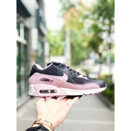 Nike Wmns Air Max 90 女鞋 黑粉 皮革 氣墊 復古慢鞋 325213-059 粉黑
