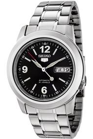 100% ORIGINAL SEIKO 5 Gents Men Automatic Stainless Steel Watch SNKE63K1 [Jam Tangan Lelaki] Malaysia
