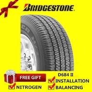 Bridgestone Dueler H/T D684 II tyre tayar tire (with installation) 265/60R18