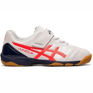 Asics JUNIOLE 5 IN [1104A010-100] 中童鞋 足球鞋 平底 減震 舒適 保護 亞瑟士 白