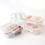 【分隔玻璃保鮮盒】Norns卡娜赫拉P助兔兔 Kanahei 角落生物 便當盒 可微波加熱餐盒