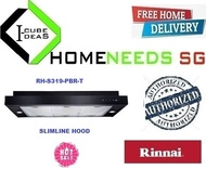 RINNAI RH-S319-PBR-T Slimline Hood |Sleek Design with Touch Control |Authorized Dealer|FREE DELIVERY
