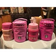 Starbucks 17 台灣 星巴克 櫻花杯 Starbucks 櫻花馬克杯 粉賞櫻餐食罐組