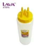 Botol Acuan Roti Jala 3 lubang/5 lubang LAVA & HT & LH Sauce Squeezer Multipurpose Tube W/H 3 OR 5 Holes 350/700/900ml