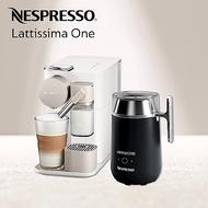 Nespresso 膠囊咖啡機 Lattissima one 咖啡機 Barista咖啡大師調理機 組合(Lattissima one2色可選)