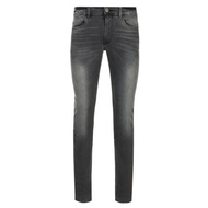 TRUSSARDI 灰色合身窄管牛仔褲 全新現貨實拍
