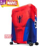 Deseno 防塵套 Marvel T漫威英雄造型防刮彈性行李箱套 蜘蛛人 適用24~29吋行李箱 得意時袋