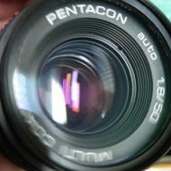 鏡頭 單眼相機 美品 經典 pentacon 50mm f1.8 m42 鏡頭