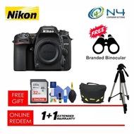 Nikon D7500(body) + 32GB SD Card + Cleaning Kit + Nikon Bag + Tripod + Branded Binocular (Original Nikon Warranty)