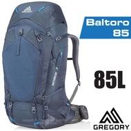 【美國 GREGORY】新款 Baltoro 85 專業健行登山背包M(附全罩式防雨罩)_91615 薄暮藍