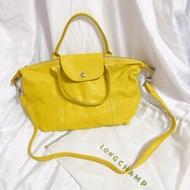 闆娘二手包-Longchamp LE PLIAGE CUIR小羊皮包