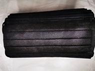 【現貨】醫療口罩,時尚黑,平面醫療口罩30入