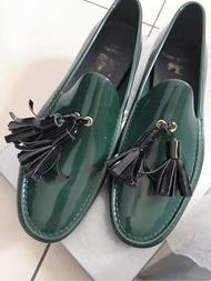 Vivienne Westwood 軟膠休閒鞋(墨綠色)