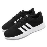 adidas 休閒鞋 Lite Racer 運動 低筒 男鞋 愛迪達 基本款 穿搭推薦 球鞋 黑 白 EH1323