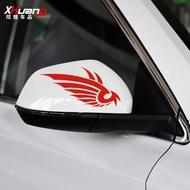 Car Rear View Mirror Decal Sticker Auto Charizard Mirror Stickers
