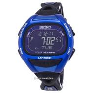 Seiko Prospex SBEF029 Super Runner Lap Memory Solar Mens Watch