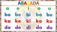 ABAKADA Laminated and Bigger Chart