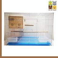 กล่องนอน รังนก กล่องเพาะ นกหงษ์หยก ชูก้าไรเดอร์ ราคา 95 บ.
