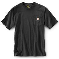 CARHARTT - K87 BLK 美線 Pocket Tee 口袋 短T 素T (BLK 黑色) 化學原宿