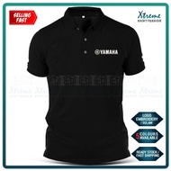 Yamaha Sulam Casual Polo T Shirt TZM Y125Z LC RXZ Y15 MotoGP Motorcycle Motosikal Superbike Racing Team Bike Streetwear