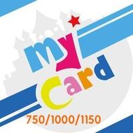 【MyCard】750/1000/1150點點數卡 可刷卡享現金回饋 【限刷卡付款】台中 誠選良品