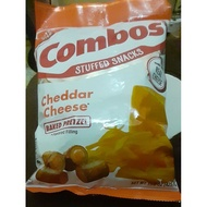 Combos Party Size Cheddar Cheese Baked Pretzels 425g