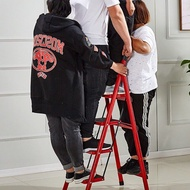 Heavy Duty Foldable Ladder Tangga Lipat Lightweight Multipurpose Folding Ladder 3 Step 4 Step 5 Step 6 Step Aluminium St