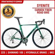 [Preorder] ★VOLCK Syenite Carbon Fiber Road Bicycle ★ Shimano 105 R7070 Hydraulic Brake/22S/9kg/ Sava/ 5 Years Warranty [EST: 31 May 2021]