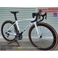 ALCOTT FIORANO TEAM ***FREE SHIPPING***   (Shimano ULTEGRA ) ROAD RACING BIKE BICYCLE RB