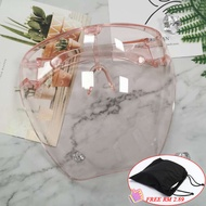 【Free Shipping With Bag】1pcs Oversized Full Face Shield With Large Mirror Acrylic Protective Face Shield Visor Full Face Sunglasses Eye Mask
