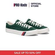 รองเท้า PRO-KEDS  PH61373 ROYAL PLUS SUEDE HUNTER GREEN รองเท้าผ้าใบผู้ชาย แบบหนังผูกเชือก สีเขียว