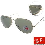【RayBan太陽眼鏡】熱門偏光款(金#RB3025 00158-62mm)