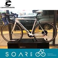 【SOAR3275】西進武嶺單車/美國Cannondale Supersix EVO Ultegra(CAS)/白52