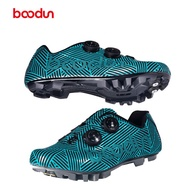 Boodun Cycling Shoes Racing MTB Mountain Bike Bicycle Racing Cylcle Shoes Shimano SPD System Synthetic