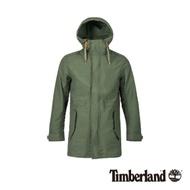 Timberland 男款森林綠防水連帽三合一外套 A1ZQD