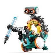 台灣製造Pro skit寶工科學玩具五合一機械編程機器人程式機器人STEM編碼機器人GE-895(5種造型設計模板)