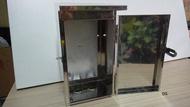 {水電材料行} 1連 304 白鐵箱 不銹鋼 不鏽鋼 電表箱 開關箱 防水箱 電錶箱 分電箱 弱電箱 電信箱 保險箱
