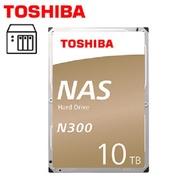 Toshiba【N300 NAS碟】10TB 3.5吋NAS硬碟(HDWG11AAZSTA)