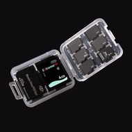 3pcs Memory Card Storage Box Case Organizer for SD Card TF Card Memory Stick