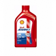 Lubricant Engine Oil Shell Advance 4T