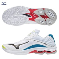 MIZUNO WAVE LIGHTNING Z6 男鞋 排球 手球 包覆 止滑 避震 白 藍【運動世界】V1GA200046