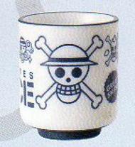 海賊王海盜旗藍杯陶瓷微波爐和洗碗機可用 tokinokotonaraoyatanukikotanuki