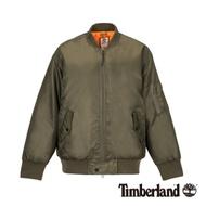 Timberland 女款橄欖綠復古飛行員夾克|B4108