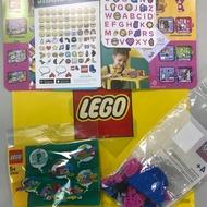LEGO 30545 貼紙 紅鶴