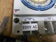 national 國際牌 TB358D 定時器 220V 機械式 定時器 缺底蓋