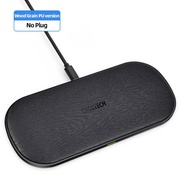 CHOETECH Qi Charging Pad Wireless Charger 18W 5 Coils for iPhone12 X Max 8 Fast Wireless Charging Pad for AirPods 2 Pro