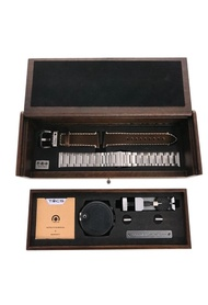 Tacs Tacs 復古雙鏡頭機械手錶皮帶 限量禮盒裝 (TS2002C)