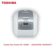 Toshiba RC-10NMF Rice Cooker -  SINGAPORE WARRANTY